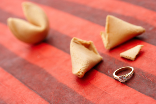 fortune cookie engagement announcement