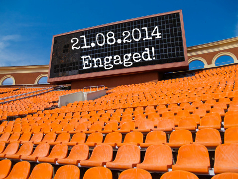 sign engagement announcement