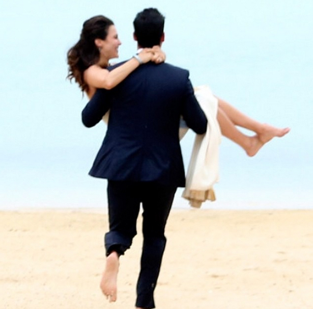 Andi Dorfman and Josh Murray