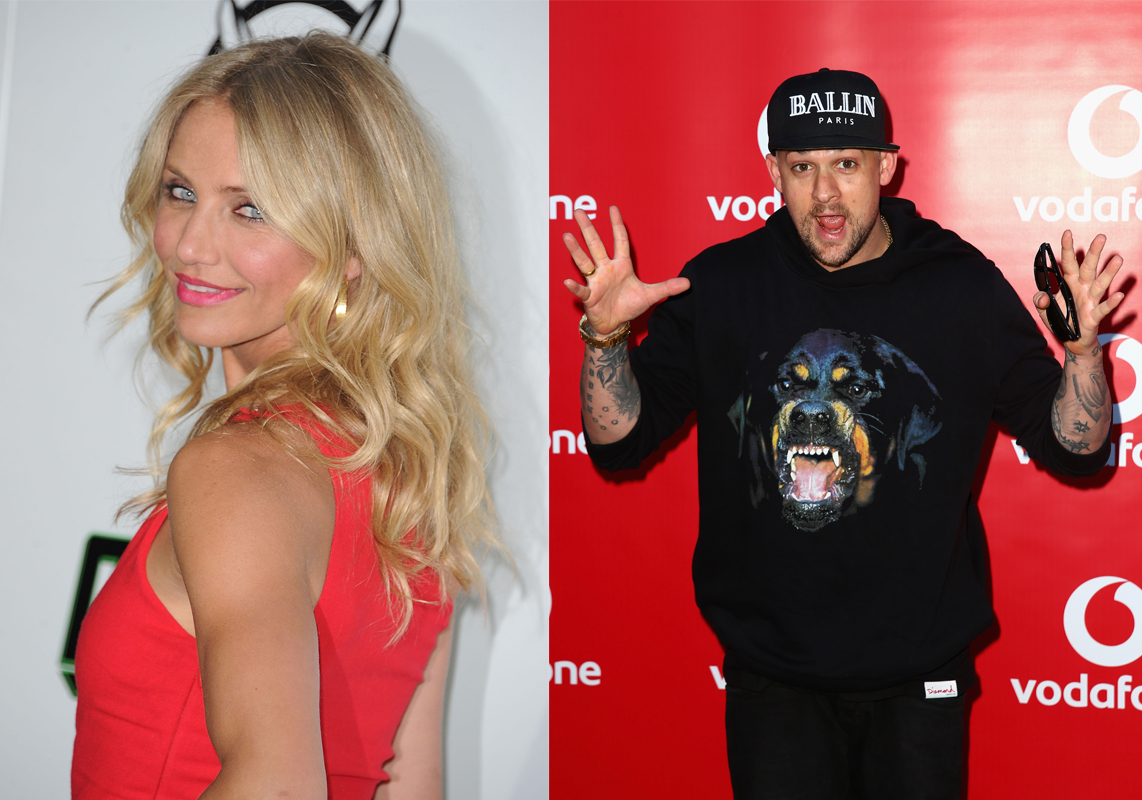 Benji Madden and Cameron Diaz marrying