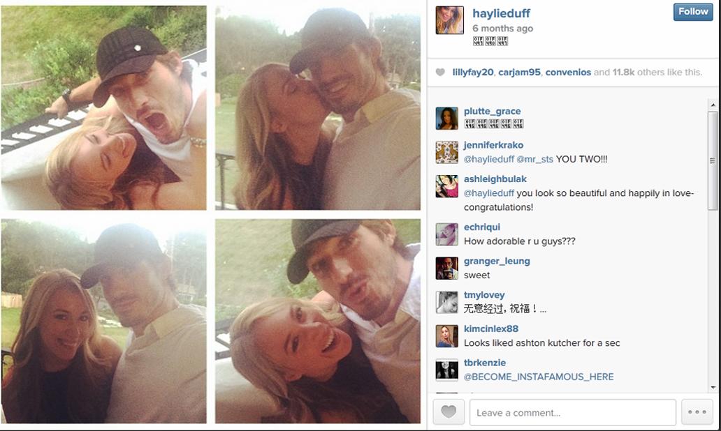 Image: Haylie Duff via Instagram