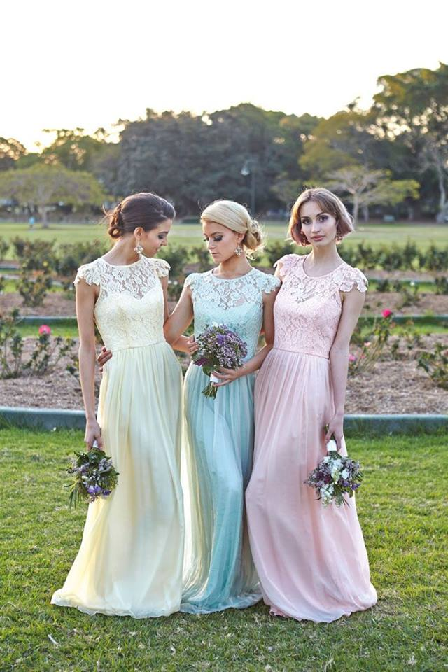 Tania Olsend Designs bridesmaids dresses