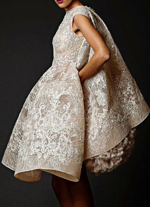 fashionista bride wedding gown