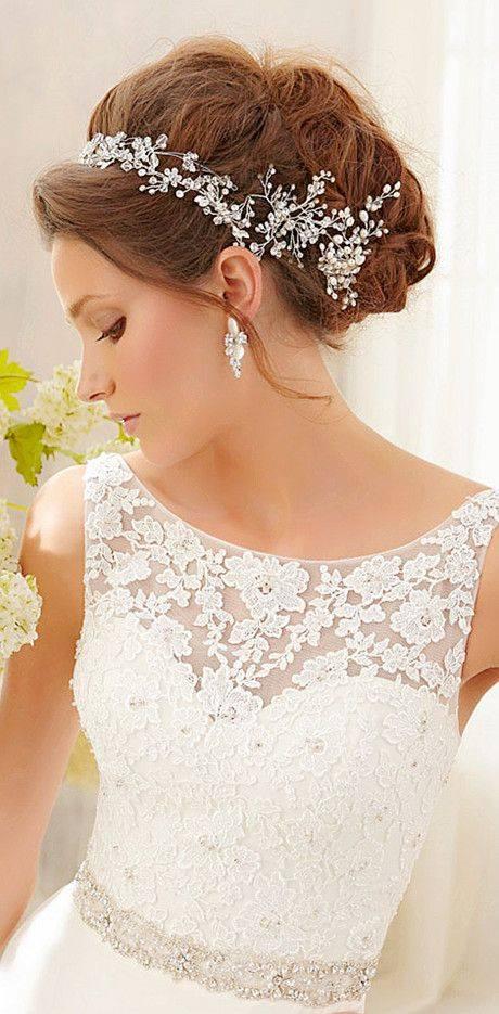 Dress V wedding gown
