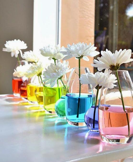 colourful wedding centerpiecespieces
