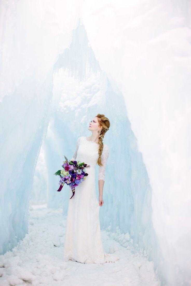 15 Frozen inspired wedding gowns | Easy Weddings