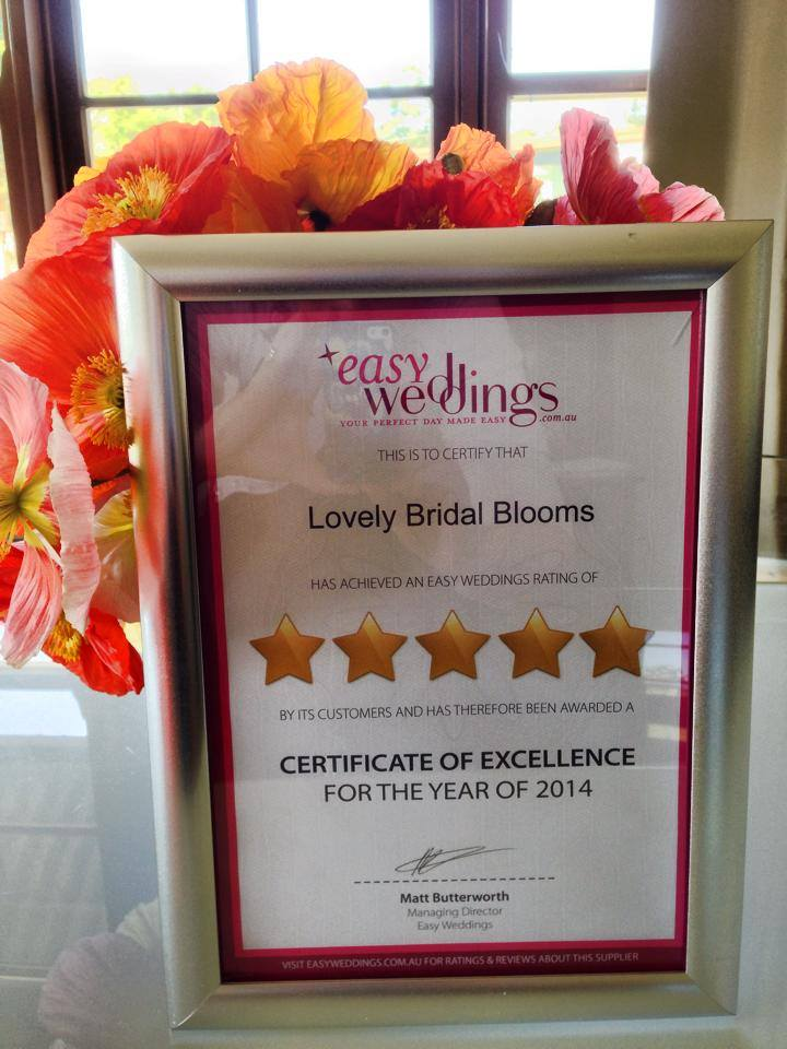 Easy Weddings five-star supplier