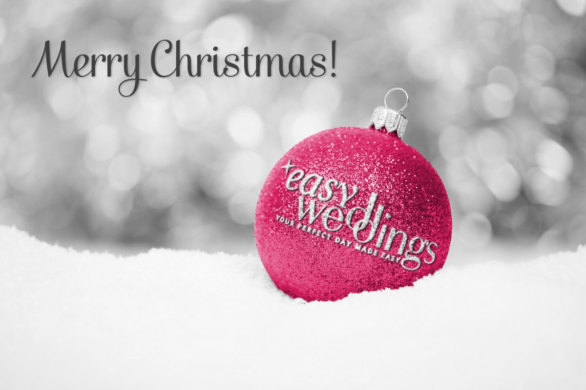 Merry Christmas from Easy Weddings