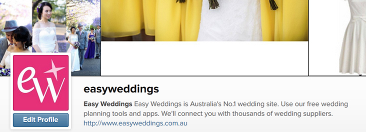 Easy Weddings on Instagram