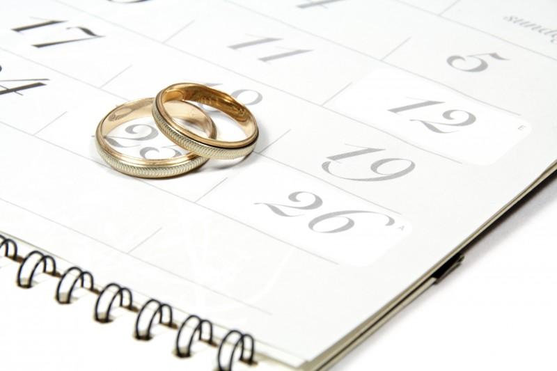 wedding date