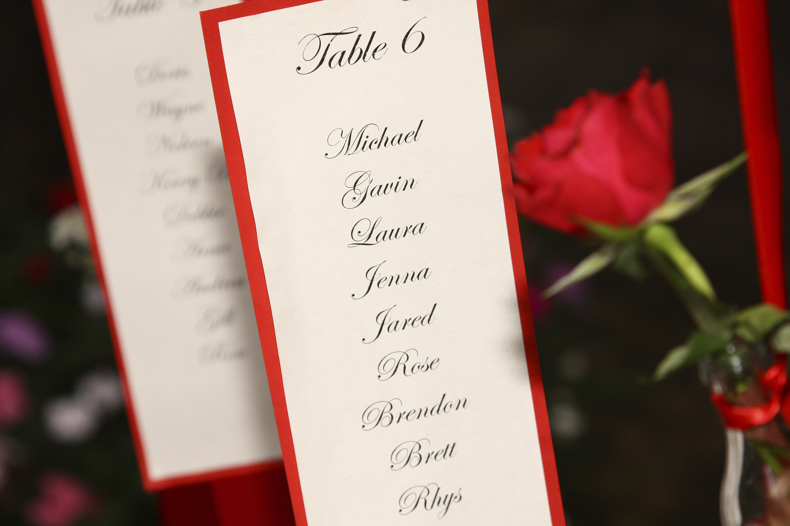 Reception seating plan - Articles - Easy Weddings