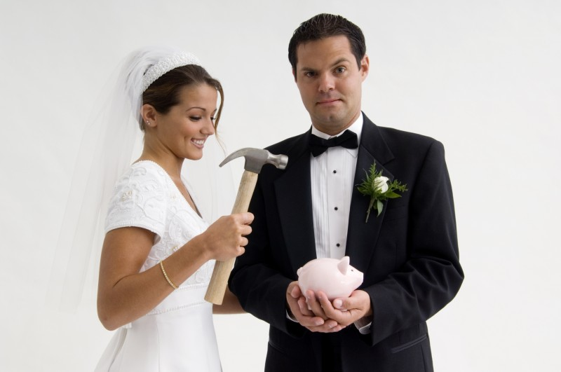 who pays for the wedding