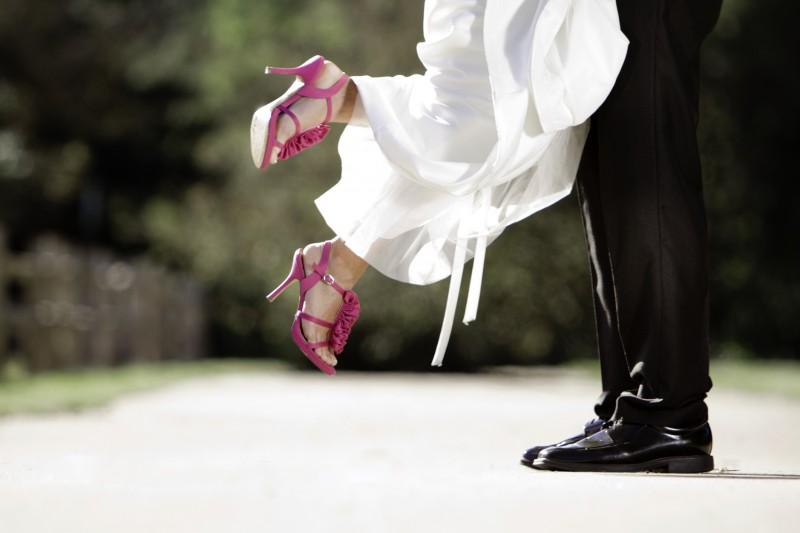bridal high heels