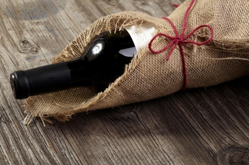 Wine Bomboniere
