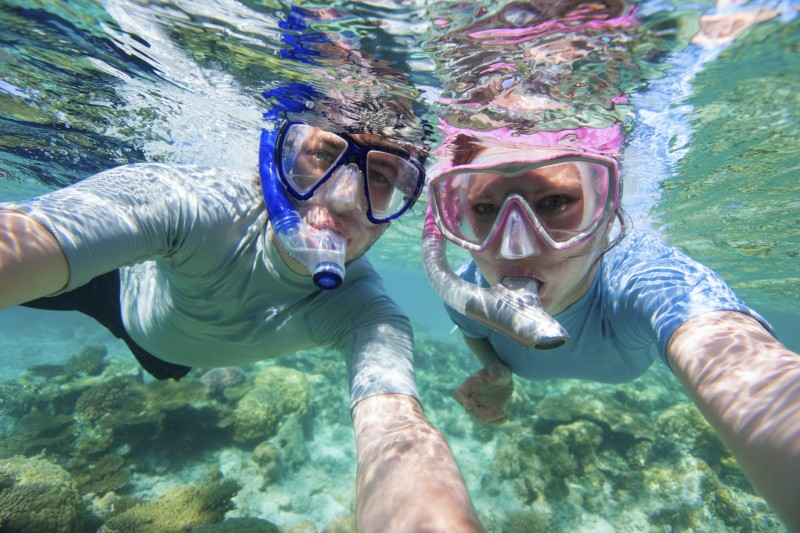 honeymoon snorkelling