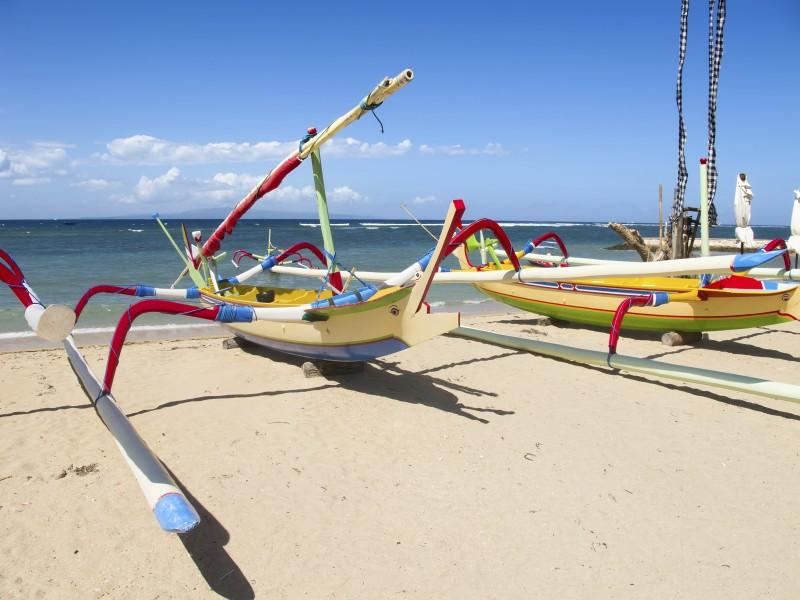 Balinese boat