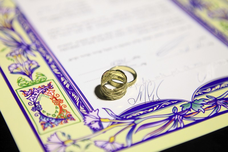 jewish wedding contract