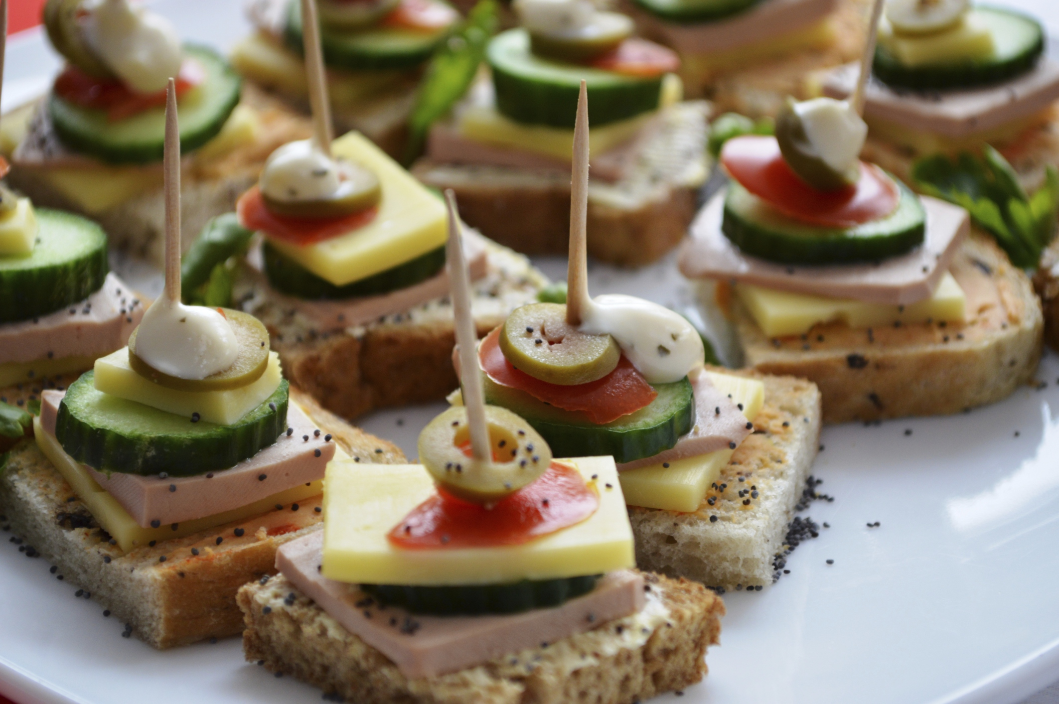 wedding finger food - articles - easy weddings