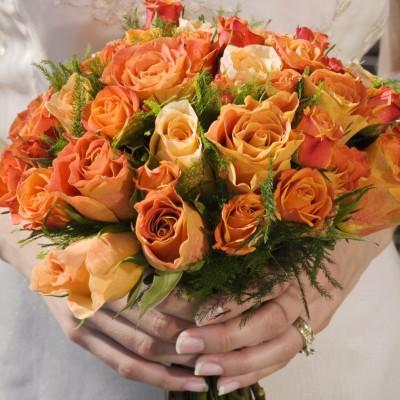 allergy free wedding flowers