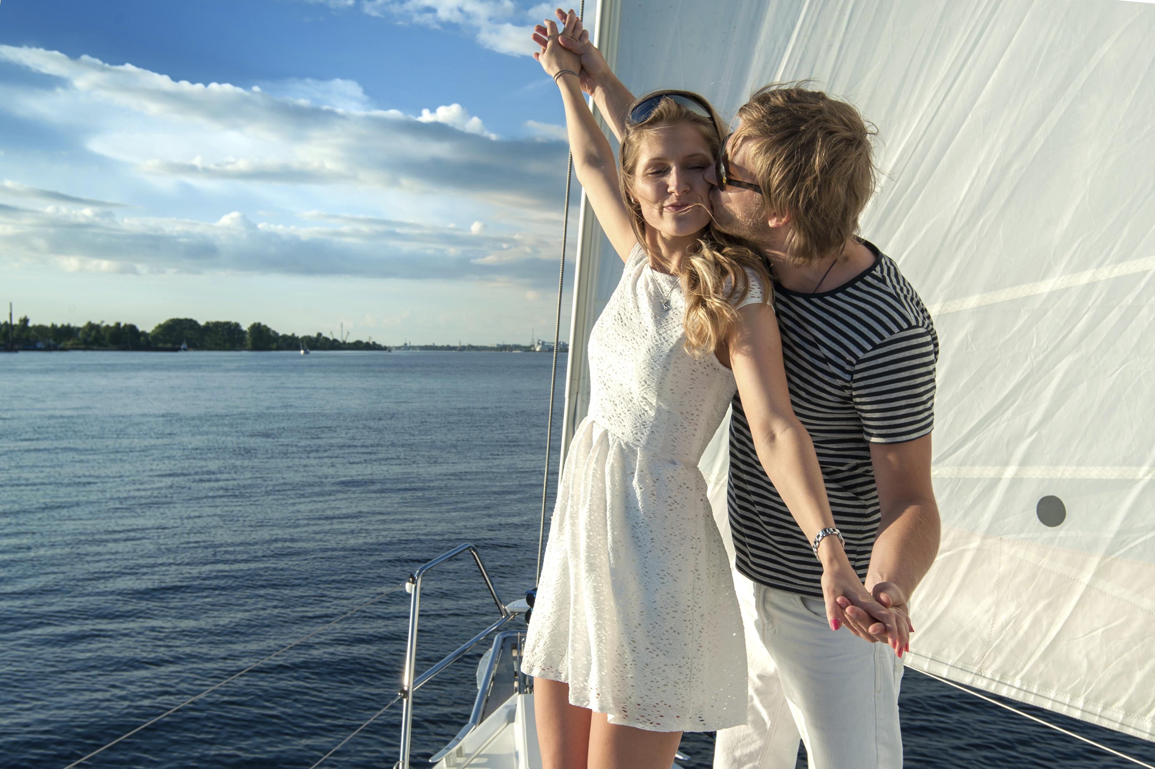 Honeymoon ideas - charter a boat