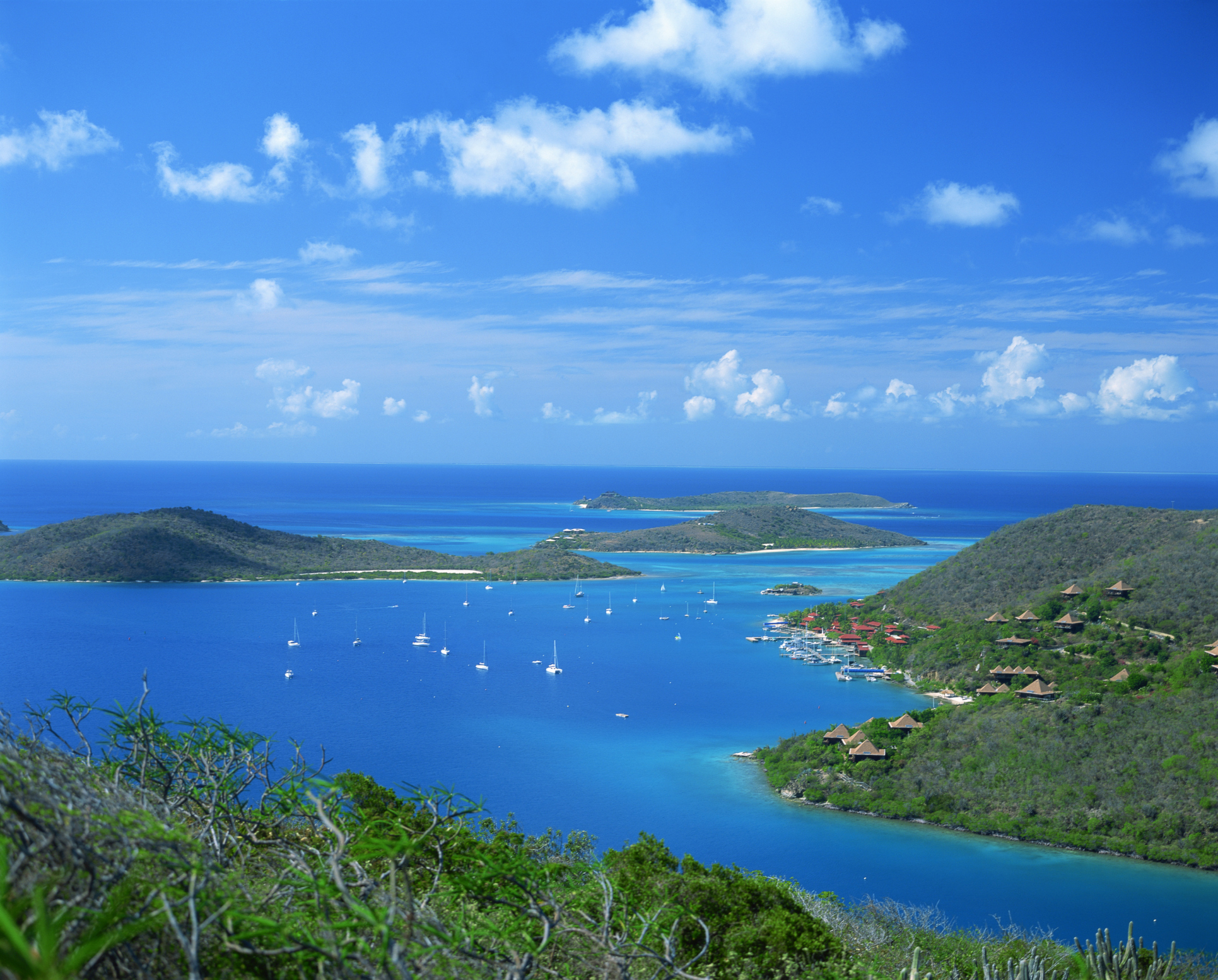 Unusual but fun honeymoon ideas - Richard Branson's Necker Island