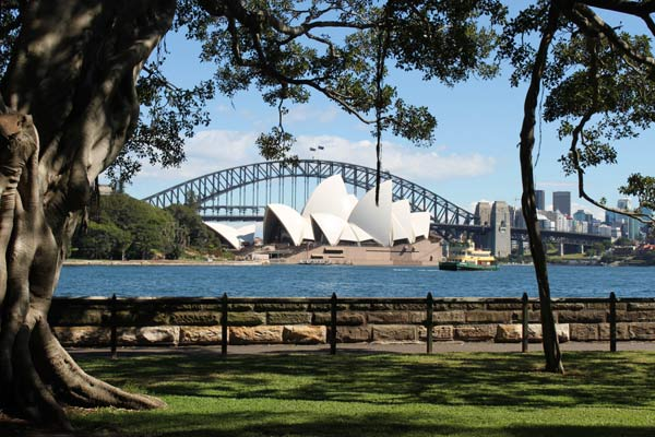 Royal Botanic Gardens Harbour View Lawn Garden Locations
