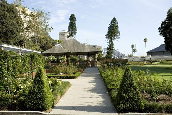 Royal Botanic Gardens Rose Garden Pavilion Garden Locations