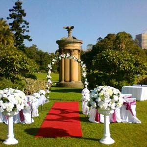 Royal Botanic Gardens – Flower Bed Lawn