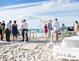 Clarkes Beach wedding