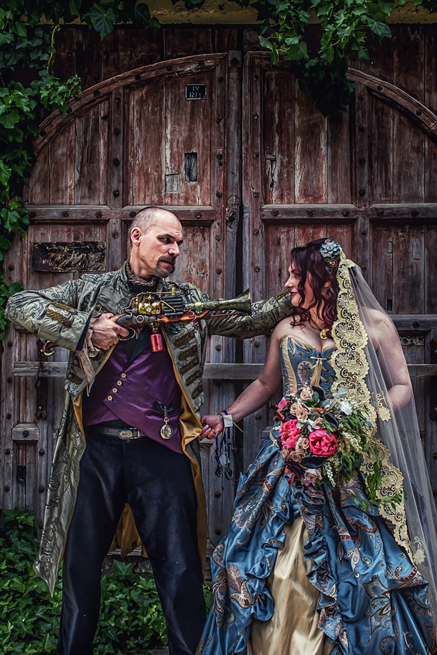 A Victorian Steampunk Wedding In Currency Creek Sa Faith
