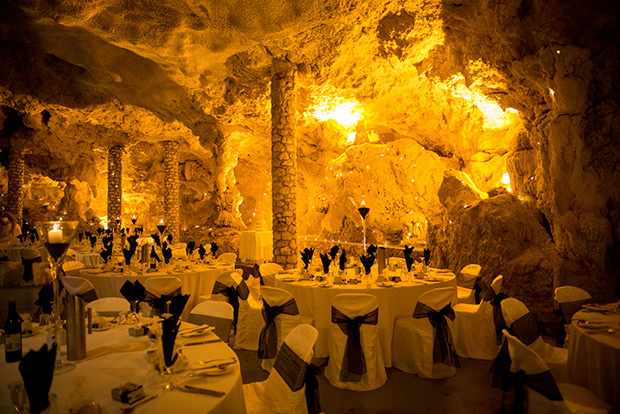 Cave The Perfect Setting For Jayde Amp Sean S Elegant Wedding
