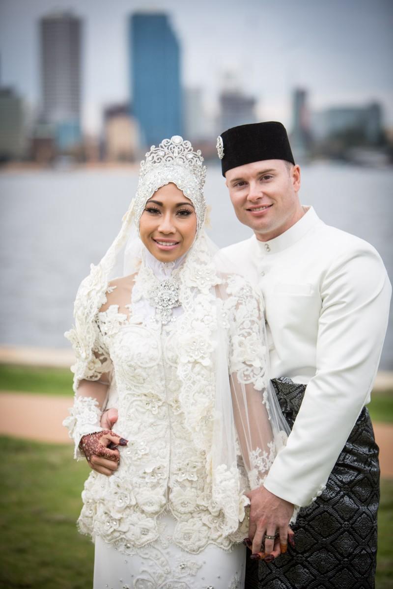 hunter wedding dress men