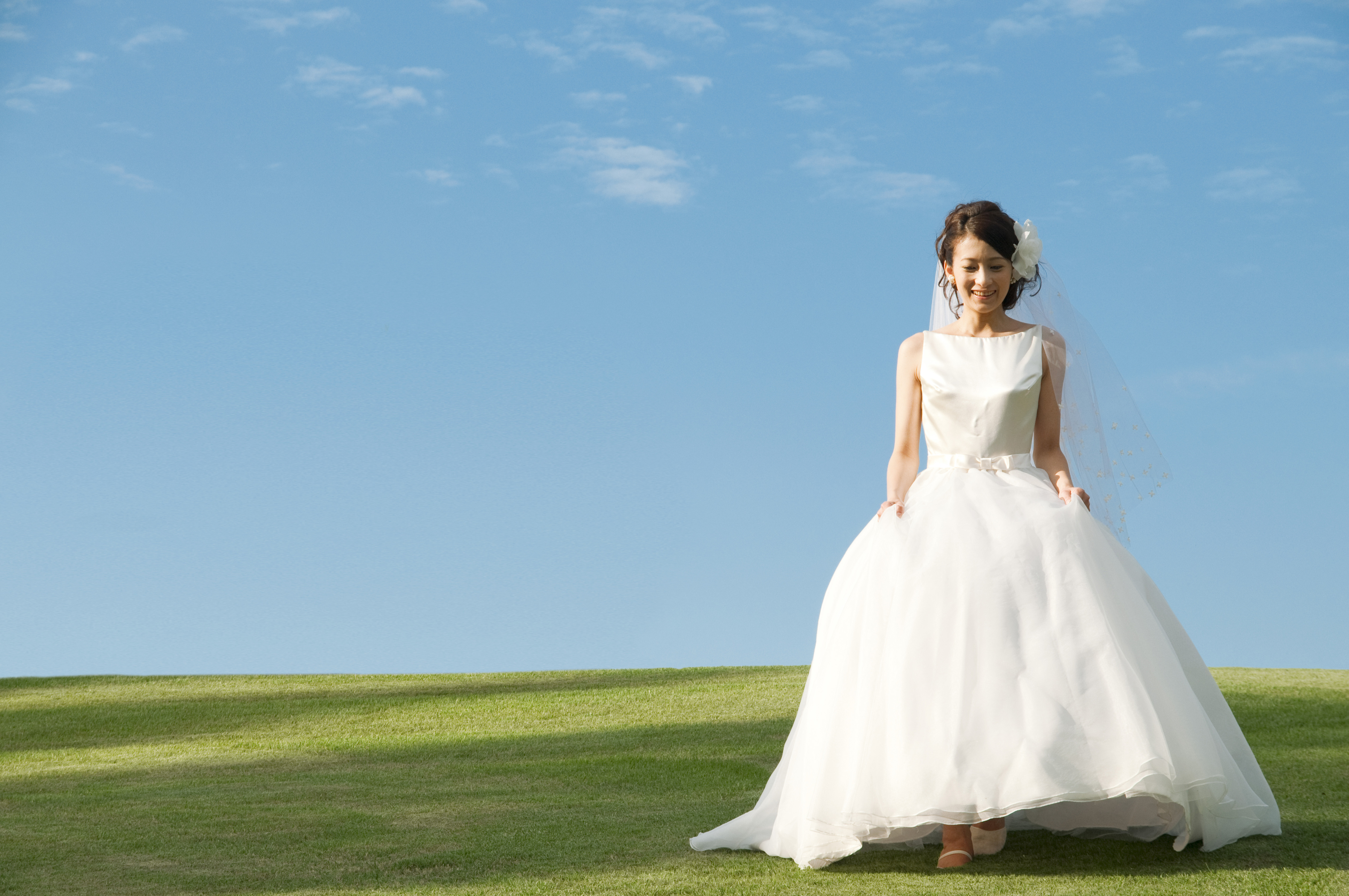 edc552d01597 Wedding gowns - style of skirt - Articles - Easy Weddings