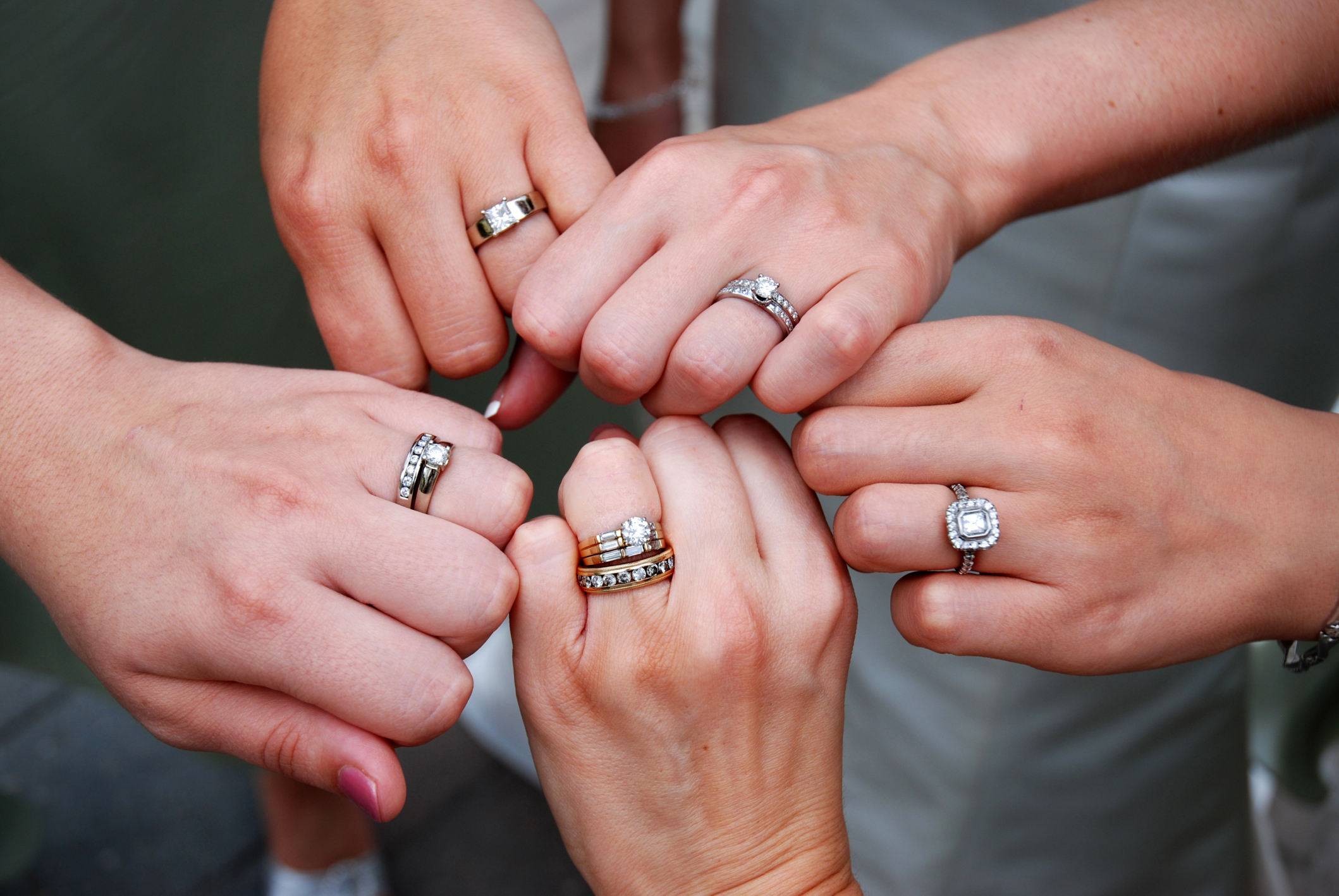 Wearing Two Rings Articles Easy Weddings